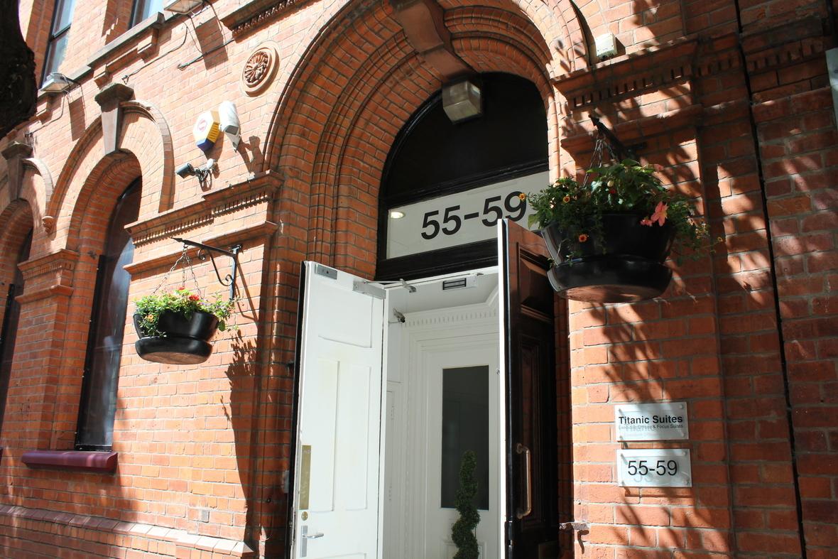 Titanic Suites Entrance